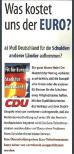 Wahlplakat CDU 1999