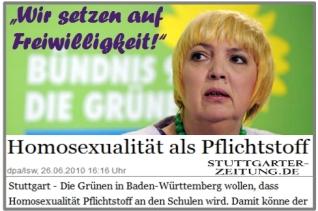 """Grüne Freiwilligkeit"" - Sexualität"