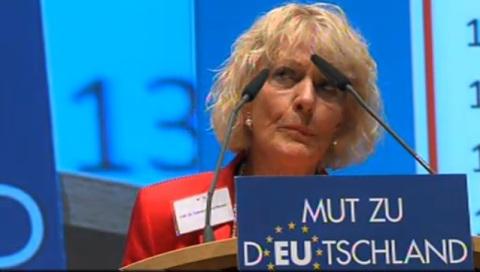 Prof. Ursula Braun-Moser war für die CDU im EU-Parlament